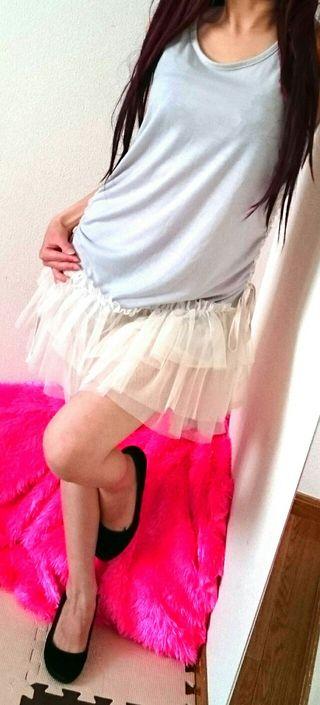 Cutie Blondeチュールレース切替/わんぴ