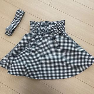 ギンガムチェック スカート