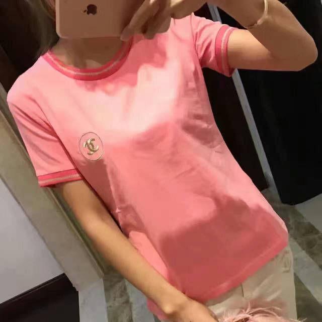 新発売!可愛い 刺繍半袖 Tシャツ トレーニングシャツ