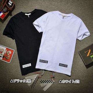 全国送料無料オフホワイト夏用Tシャツ
