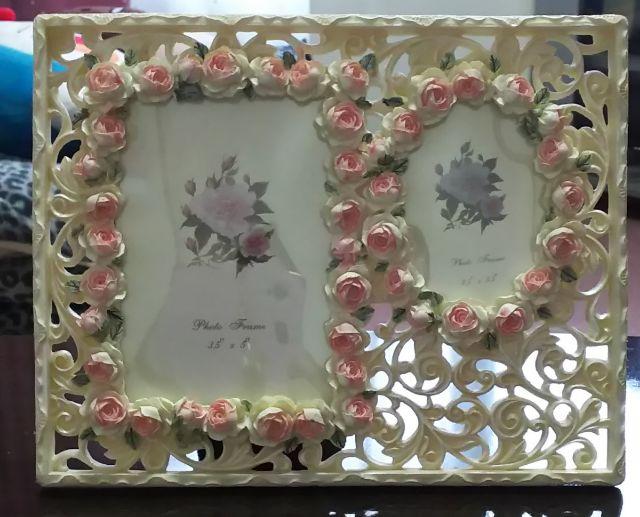 お花のフォトフレーム