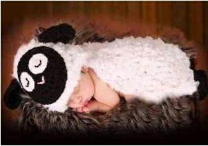 赤ちゃん人気のひつじのショーンを思わせる 可愛い子羊着ぐるみ