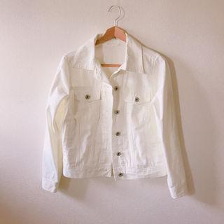 デニムジャケット ホワイト
