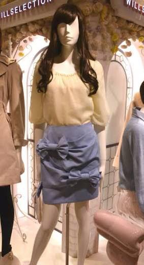 ウィルセレクション  リボンスカート