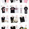 19新作人気Tシャツ おしゃれ 2枚6000円/T15
