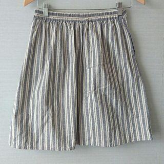ショコラフィネローブ 夏用ストライプスカート