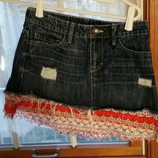シェルのヴィンテージデニムのスカートです(*^^*)