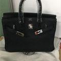 新品 ハンドバッグ バーキン ブラック