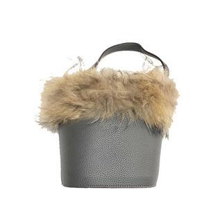 UNRELISH/ファー付きバケツバッグ