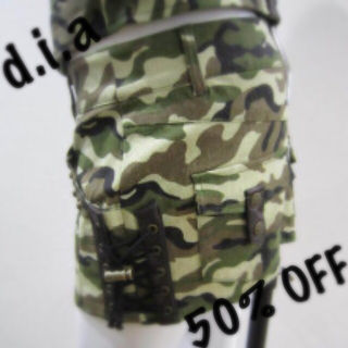 d.i.a スカートパンツ
