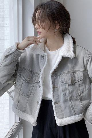 デニムコートレディースジャケット