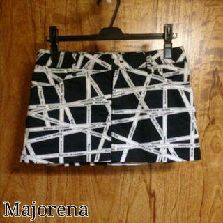 Majorena*ロゴ台形スカート
