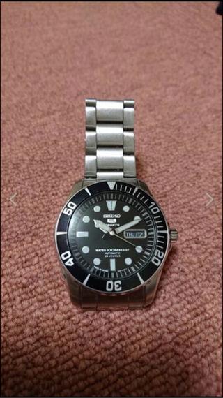 セイコー自動巻腕時計