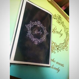 Rady好きにノート、メモ帳