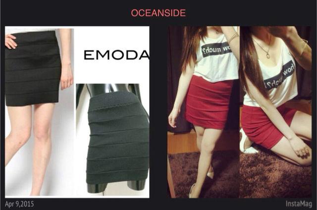 【新品】EMODA 同型 ポンチタイトスカート - フリマアプリ&サイトShoppies[ショッピーズ]