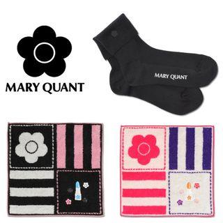 MARY QUANT 新品 3点  ソックス&ミニタオル