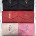 yves saint laurent可愛い3つ折短財布 6色