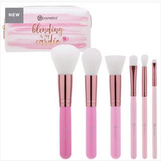 ポーチ付きメイクブラシセット BH cosmetics