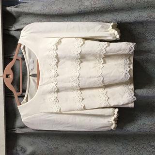 新品 ウィルセレクション 春 ブラウス フリル シャツ 長袖