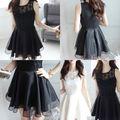 ブラック ウェディング ドレス 結婚式 ノースリ キャバ
