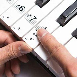ピアノ 用 88鍵盤 音符 シール 初心者にピッタリ!