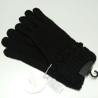正規品/新品タグ付き【Chloe】クロエ手袋 高級 ブラック