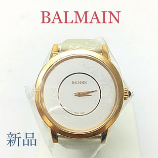 鑑定済み正規品 新品BALMAIN腕時計
