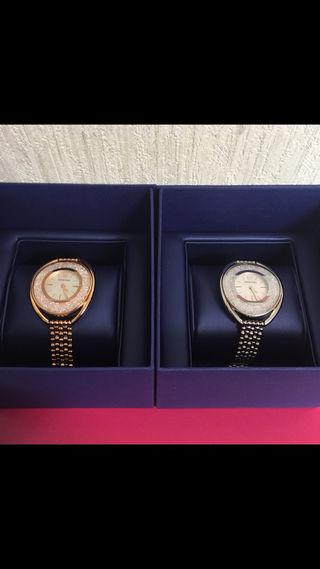 スワロフスキー腕時計シルバー