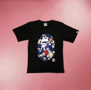新入荷 AAPE 男女兼用 Tシャツ