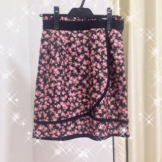 レッセパッセ  花柄スカート