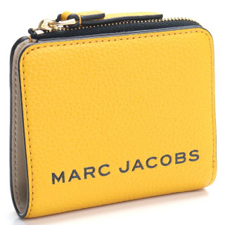MARC JACOBS 2つ折り財布 コンパクト イエロー