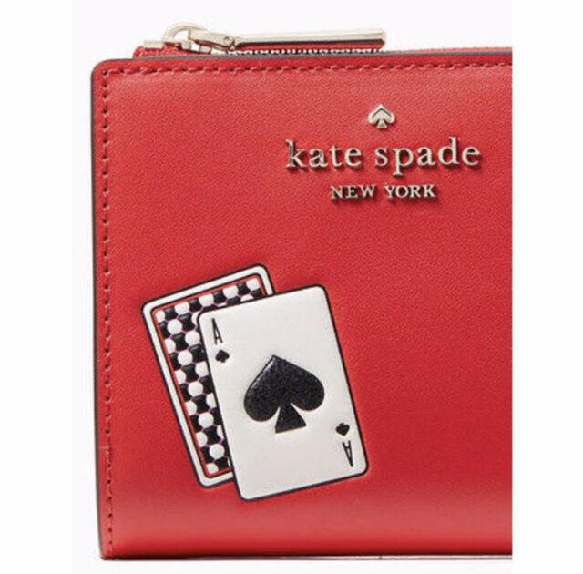 ケイトスペード ラッキードロー スモール 折り財布