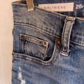 GAP girlfriend distressed