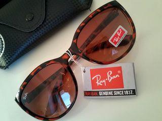 RayBan新品ブラウンサングラス/レオパード