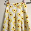 イングひまわり柄スカート