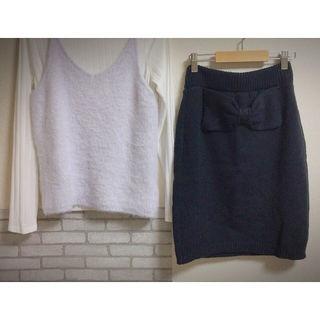 RCWBバックリボンタイトスカート
