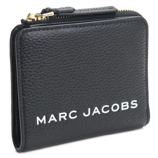 MARC JACOBS 2つ折り財布 コンパクト ブラック