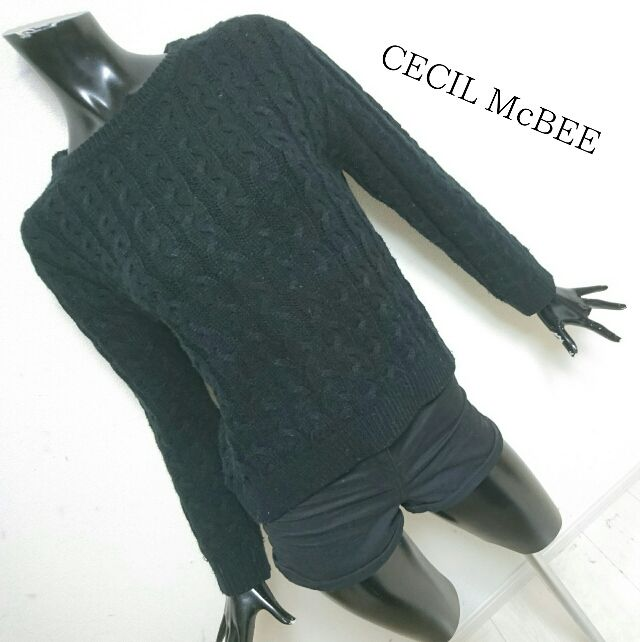 CECIL McBEE*ケーブルニット(CECIL McBEE(セシルマクビー) ) - フリマアプリ&サイトShoppies[ショッピーズ]