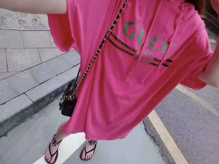 レディース用!oversizeTシャツ トレーニングシャツ