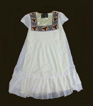送料込29専門春ロジータ豪華 刺繍フリルが素敵なドレス