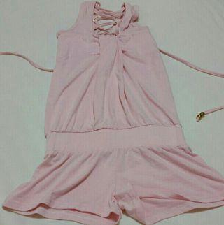 オールインワン ピンク 新品未使用品 レディース
