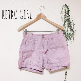 RETRO GIRL ショートパンツ