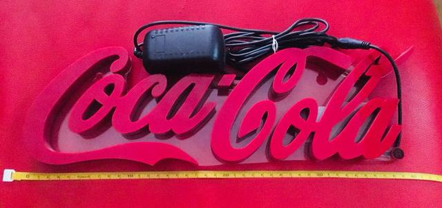 コカコーラ照明