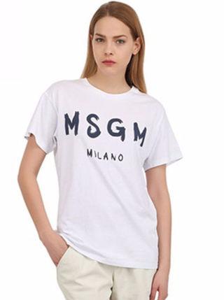 再入荷 MSGM  Tシャツ   カジュアル