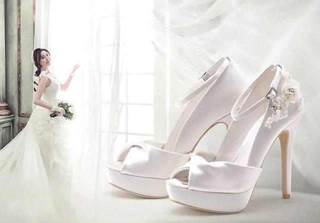 高級感 結婚式 二次会 パーティー婦人靴スエード リボン(ノーブランド ) - フリマアプリ&サイトShoppies[ショッピーズ]