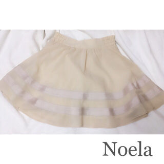 noela フレアスカート