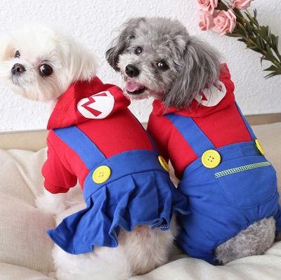 コスプレ 犬のかわいい服 Mサイズ