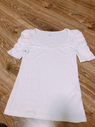 ZARA二の腕カバー UネックTシャツ