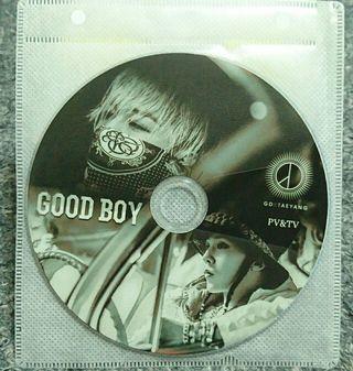 G-DRAGON&TEYANG DVD
