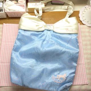 SWIMMERゆめかわいいユニコーン刺繍星座柄トートバッグ